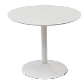 Pusdienu galds Reality Judy White, 900x900x760 mm