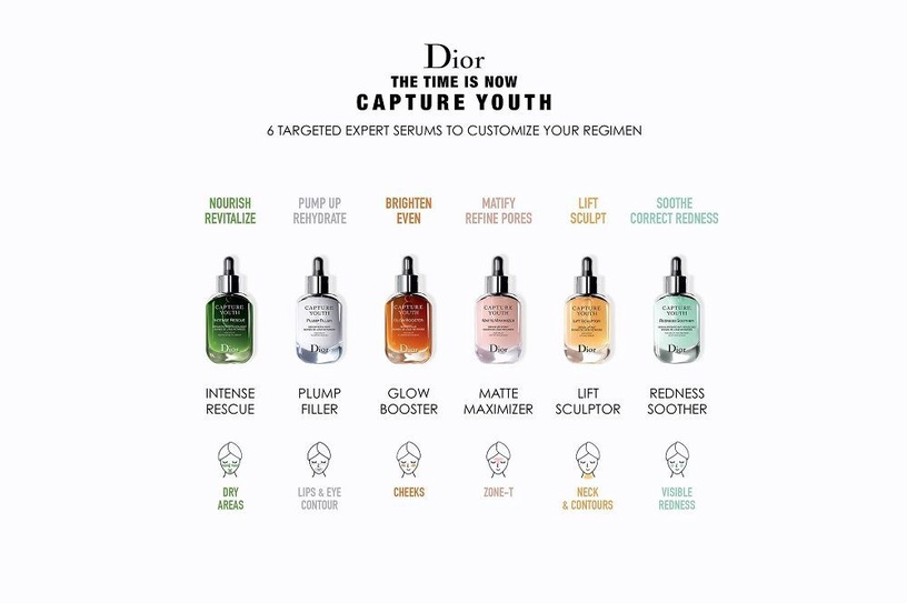 Сыворотка для лица Christian Dior Capture Youth Matte Maximizer Serum ,30 мл