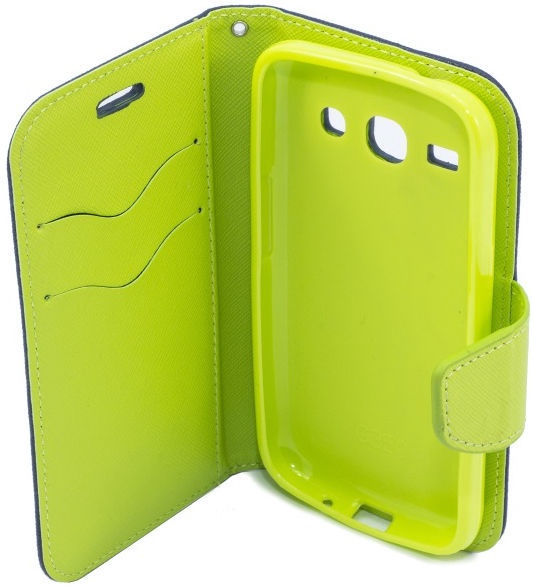 Telone Fancy Diary Bookstand Case For Huawei P8 Lite Smart Blue/Light Green