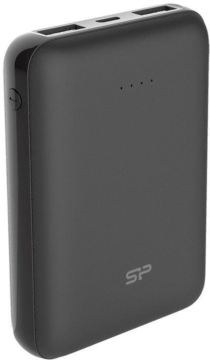 Ārējs akumulators Silicon Power Mini Black, 10000 mAh
