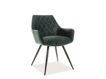 Ēdamistabas krēsls Signal Meble Linea Velvet Green