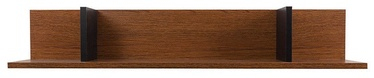 Black Red White Madison Hanging Shelf 95x20x17cm Brown Oak