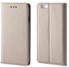 TakeMe Smart Magnetic Fix Book Case For Xiaomi Redmi Go Gold