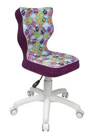 Детский стул Entelo ST32 Purple Owl/White