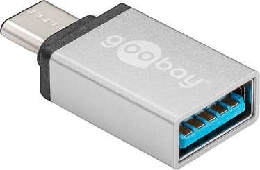 Goobay Adapter USB To USB Type C Silver
