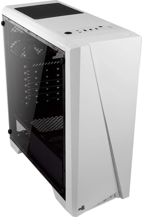 Aerocool Case Rift RGB Midi Tower Window White