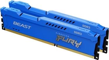 Operatīvā atmiņa (RAM) Kingston Fury Beast DDR3 8 GB CL10 1866 MHz