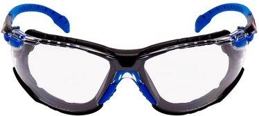 3M Solus Safety Glasses Blue/Black