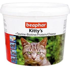 Пищевые добавки, витамины для кошек Beaphar Kittys Mix with Fish Cheese and Taurine 750pcs