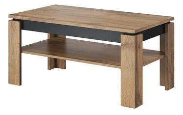 Журнальный столик Cama Meble Toro, серый/дубовый, 1000x550x470 мм