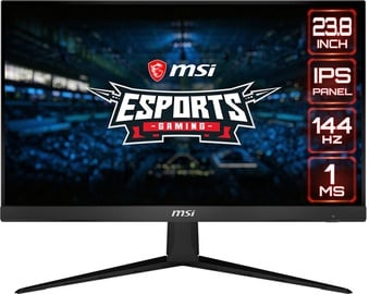 "Monitors MSI Optix G241, 23.8"", 1 ms"