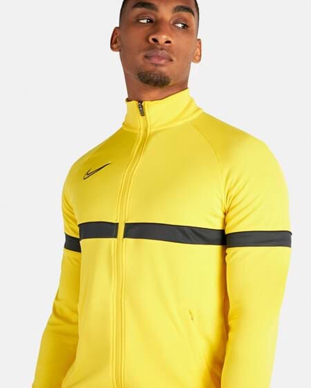 Nike Dri-FIT Academy 21 Knit Track Jacket CW6113 719 Yellow 2XL