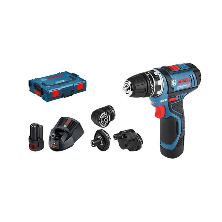 Akumulatora skrūvgriezējs - urbis Bosch 06019F6000