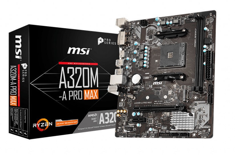 Mātesplate MSI A320M-A Pro Max