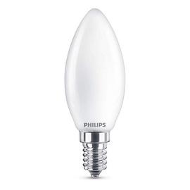 SP. LED B35 4,3W E14 827 FR GL 470LM (PHILIPS)