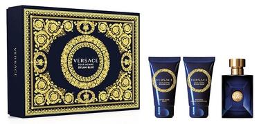 Komplekts vīriešiem Versace Pour Homme Dylan Blue 3pcs Set 150 ml EDT