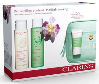 Clarins Perfect Cleansing 4pcs Gift Set 415ml Combination/Oily