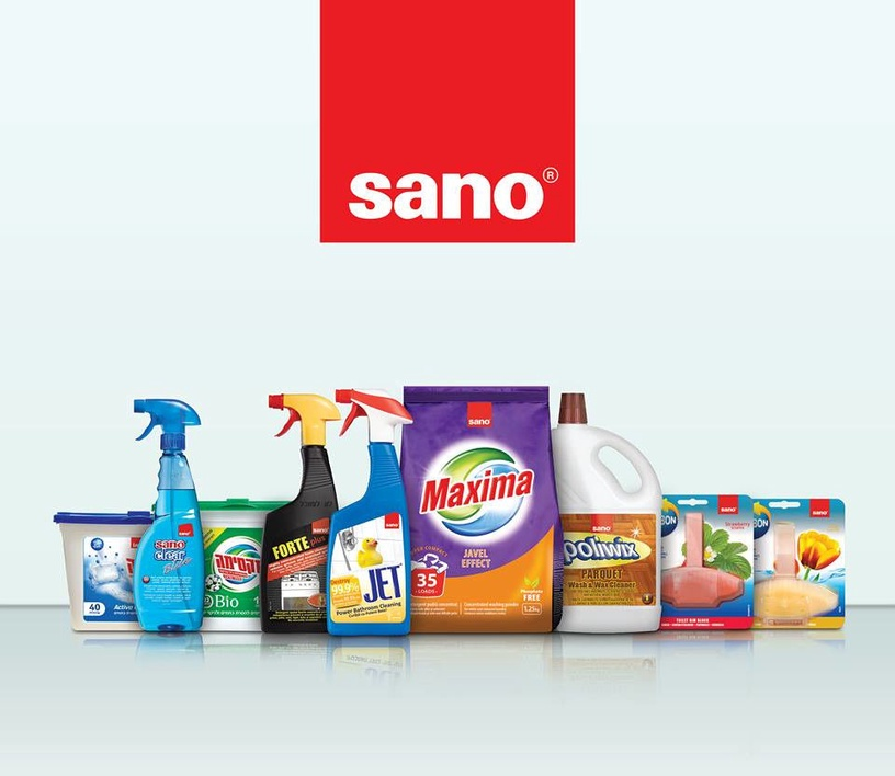 Sano Sanoclear Blue Glass Cleaner 1l