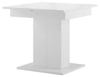 Обеденный стол Szynaka Meble Star 05 White, 850x850x770 мм