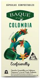 Cafe Baque Colombia Nespreso Compatible Coffee Capsules 10pcs