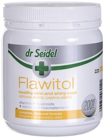 Пищевые добавки для собак Dr Seidel Flawitol Healthy Skin & Shiny Coat 200tbs