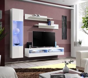 Dzīvojamās istabas mēbeļu komplekts ASM Fly R9 White
