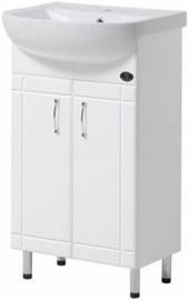 Шкаф для ванной Julius Trading Econom T0013 465x820x281mm White
