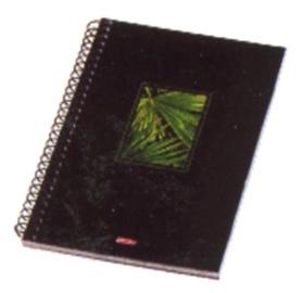 Bloknots Herlitz Spiral Notepad A6 Black Box Assortment 10088573