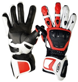 Shiro Racing GP Gloves SH-07 White Black Red XXL