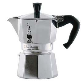 Bialetti Moka Express Coffee Maker 0.05l Silver