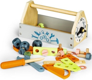EcoToys Wooden Toolbox Workshop Set Mini