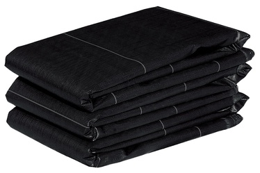 Укрывное полотно, черный, 2x5 м