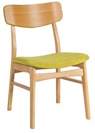 Ēdamistabas krēsls Home4you Jaxton Green 20862, 1 gab.