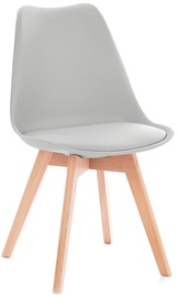 Homede Tempa Chairs 4pcs Light Grey