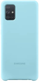 Back cover for Samsung A71 Blue