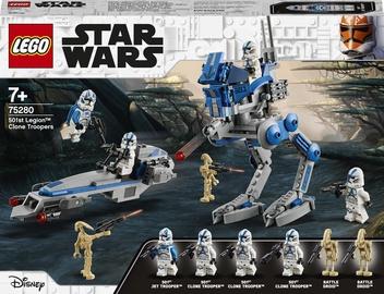 Конструктор LEGO Star Wars Клоны-пехотинцы 501-го легиона 75280, 285 шт.