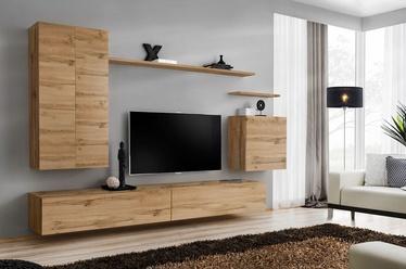 Dzīvojamās istabas mēbeļu komplekts ASM Switch II Wotan Oak