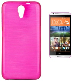 Forcell Jelly Brush Back Case For HTC Desire 620 Pink