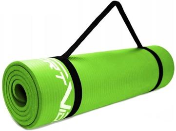 SportVida Exercise Mat 180x60x1cm Green