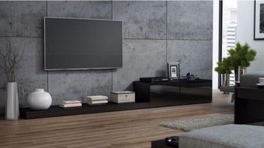 ТВ стол Cama Meble Life 300, черный, 3000x420x350 мм