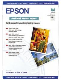 Foto papīrs Epson C13S041342 A4 Matte 50