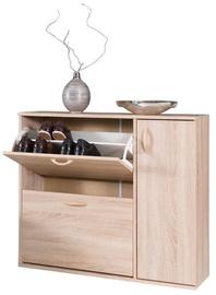 Шкаф для обуви Maridex DRZWI Sonoma Oak, 860x270x1020 мм