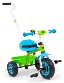 Трехколесный велосипед Milly Mally Turbo, зеленый