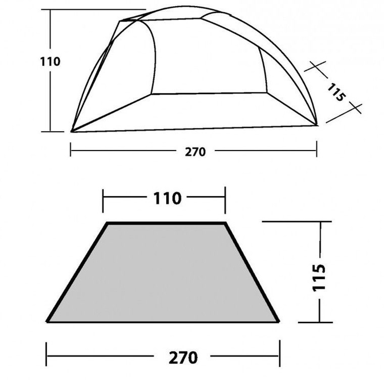 Telts Easy Camp Beach Tent