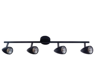 Light Prestige Cortino 4 LED Lamp 4x5W Black