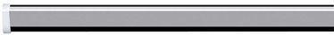 Spirella Shower Curtain Rod Ova 125x220cm Aluminium Silver