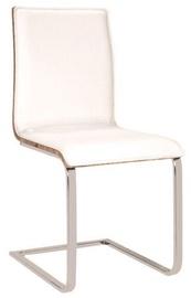 Ēdamistabas krēsls Signal Meble H690 White/Sonoma Oak, 1 gab.