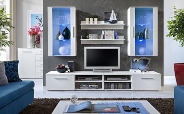 ASM Galino G Living Room Wall Unit Set White Mat