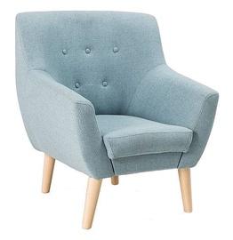Atzveltnes krēsls Signal Meble Nordic 1 Cablo 10 Blue, 76x75x90 cm
