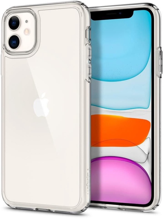 Spigen Ultra Hybrid Back Case For Apple iPhone 11 Transparent